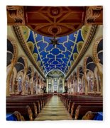 Saint Michael Church Fleece Blanket