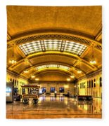 Saint Paul Union Depot Fleece Blanket