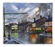 Salop Street Dudley C 1950 Fleece Blanket