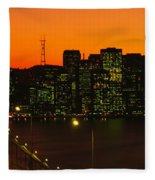 San Franscisco Ca Fleece Blanket