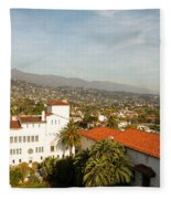 Santa Barbara Fleece Blanket