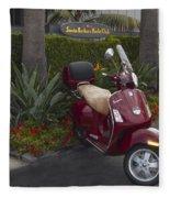 Santa Barbara Yacht Club Vespar Fleece Blanket