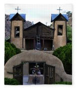 Santuario De Chimayo Fleece Blanket