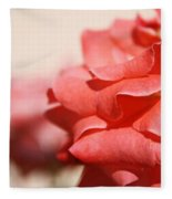 Scarlet Thread Fleece Blanket