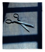 Scissors Fleece Blanket