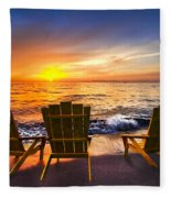 Sea Dreams II Fleece Blanket