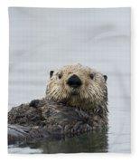 Sea Otter Alaska Fleece Blanket