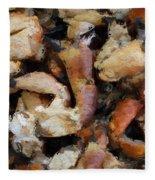 Seafood Fleece Blanket
