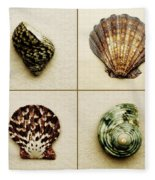Seashell Composite Fleece Blanket