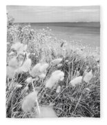 Seaside Grass Fleece Blanket