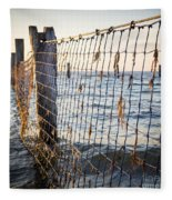 Seaside Nets Fleece Blanket