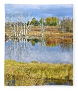 Seasons End Fleece Blanket