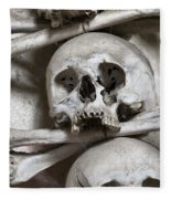 Sedlec Ossuary - Charnel-house Fleece Blanket