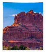 Sedona Arizona Fleece Blanket
