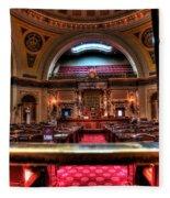 Senate Chamber Fleece Blanket