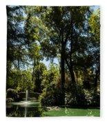 Seville - Park Maria Luisa Fleece Blanket