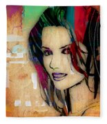 Shania Twain Collection Fleece Blanket