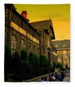 Shimla Town Hall Fleece Blanket