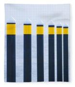 Ship Guides Fleece Blanket