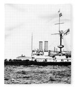 Ships Hms 'victoria Fleece Blanket