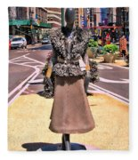 Sidewalk Catwalk 12 Fleece Blanket