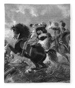 Siege Of Yorktown, 1781 Fleece Blanket