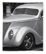 Silver Ford Fleece Blanket