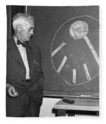 Sir Alexander Fleming Fleece Blanket