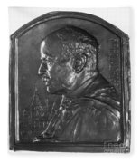 Sir Ronald Ross (1857-1932) Fleece Blanket