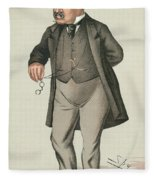 Sir William Jenner Fleece Blanket