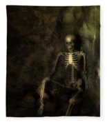 Skeleton Fleece Blanket