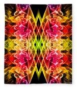 Smoke Art 143 Fleece Blanket