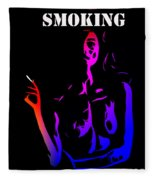 Smoking Kills  Fleece Blanket