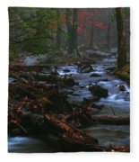 Smoky Mountain Color Fleece Blanket