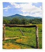 Smoky Mountain Fleece Blanket