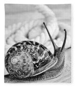 Snail Fleece Blanket