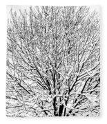 Snow Cover Fleece Blanket