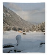 Snowed Under Fleece Blanket