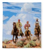Sons Of The Desert Fleece Blanket