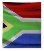 South African Flag  Fleece Blanket