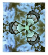 Space Station Fleece Blanket