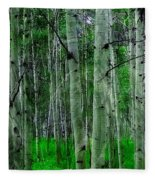 Spectacular Aspens Fleece Blanket