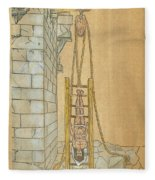 Spine Treatment, 1544 Fleece Blanket