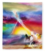 Spirit Breath Fleece Blanket