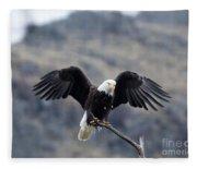 Spread Your Wings Fleece Blanket