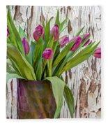Spring Delight Fleece Blanket