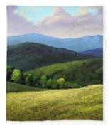 Spring Hills Fleece Blanket