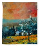 Spring In Gendron Fleece Blanket