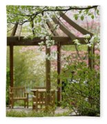 Spring Seating Fleece Blanket