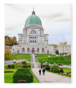 St. Joseph Oratory Fleece Blanket